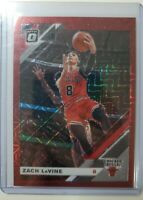 Zach Lavine 2019-2020 Optic Choice Panini Red Prizm Mojo /88 Chicago Bulls