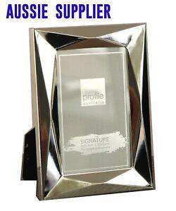 Silver 4 x 6 in (10 x 15 cm) Photo Frame Tarnish Resist Vertical Horizontal