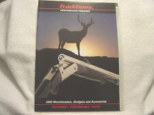 Traditions Muzzleloader 2005 gun catalog