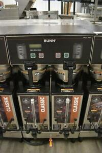 Bunn Commercial Dual SH DBC Double Coffee Machine w/ Hot Water WORKS GREAT!