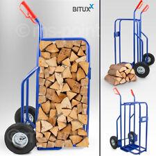 Bituxx Kaminholz Brennholz Sackkarre Kaminholzwagen Brennholzkarre Holztransport