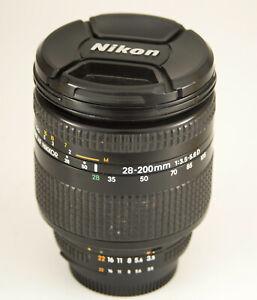 NIKON AF NIKKOR 28-200mm F3.5-5.6 D