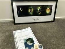 Extremely Rare! HR Giger Alien Framed Litho Signed by Sigourney Weaver LE of 50