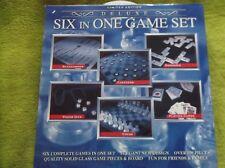 Limitierte LUXUS Edition, 6 in 1 Spiele-Set für die ganze Familie, DELUXE, NEU !
