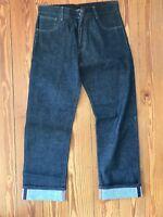 Hard Yaka Raw Denim Jeans Australien Legend Workwear 36 inch Men