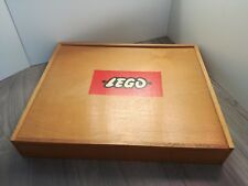 Vintage LEGO Wooden storage box from the 1960s