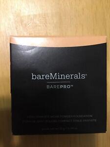 BareMinerals BAREPRO BUTTERSCOTCH 15.5 POWDER FOUNDATION COMPACT
