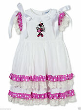 Embroidered 100% Cotton Dresses (0-24 Months) for Girls