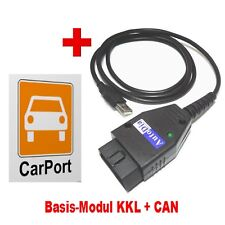 AutoDia K509 mit CarPort Software Basis-Modul KKL + CAN USB Diagnose Interface V