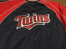 Minnesota Twins Large Pullover Jacket Windbreaker MLB Baseball Official