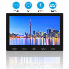 "7"" Touch Button CCTV Monitor PC Screen AV/VGA/HDMI 1080P w/ Speaker + Adpater"