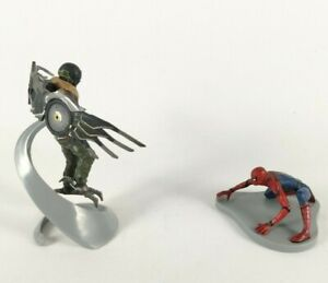 Spiderman & Vulture Figurines Cake Toppers Marvel's Home Coming Disney Store Toy
