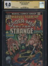 Marvel Team-Up #21 CGC 9.0 SS Len Wein 1974 Doctor Strange Dr.
