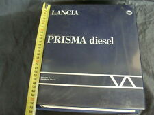 MANUALE ORIGINALE OFFICINA LANCIA PRISMA DIESEL E TURBO D TDS 1929 CC.