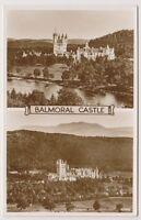 Aberdeenshire postcard - Balmoral Castle - RP