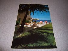 1950s THE NAUTILUS APARTMENTS LAUDERDALE by the SEA FLORIDA VTG POSTCARD
