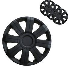 4x Radkappen 16 Zoll schwarz Radzierblenden Ersatz Rad Blende Felgen Abdeckung