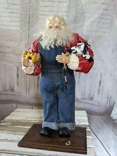 Lorraine Frances Farmer Santa Claus decor country