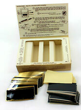 Lot 50 Kingsley Hot Foil Stamping Machine Personalized Thin Metal Plates