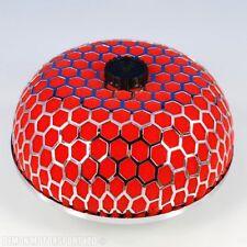 """76mm 3"""" pouces filtre air performance universel dôme champignon induction rouge"""