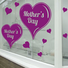 Mother's Day Wall & Window Stickers Mum Mother Decals Shop Window Display A342