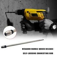 6.35mm Extension Screwdriver Drill Bit Flexible Shaft Connecting Li Holder M7Z7