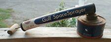 Vintage, Rare, Gulf, Gulfspray, Gulf Spray, bug sprayer.