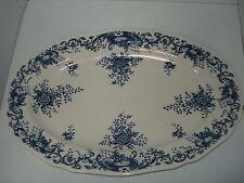 """Villeroy and Boch Blue Valeria 16"""" Platter"""