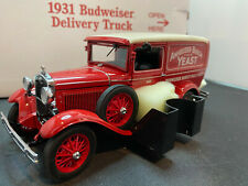 Danbury Mint 1931 Budweiser Delivery Truck 1/24 Scale Diecast With Accessories