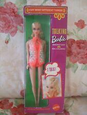 RARE VINTAGE Barbie NRFB 1969 Blonde Talking Barbie..Lovey doll