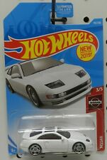 NISSAN 300ZX TWIN TURBO 3 2019 110 WHITE SPORTS CAR HW HOT WHEELS