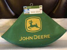John Deer Tree Skirt - Colectible New