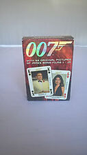 A packet of James Bond 007 Playing Cards