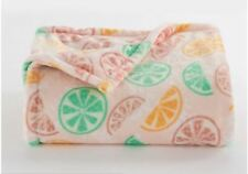 New Gift Fruits Throw Blanket Holiday Oversize Super Soft 60x72 The Big One