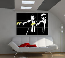 "BANKSY PULP FICTION Huge Art Giant Poster Wall Print 39""x57"" px80"
