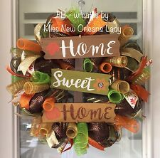 HOME SWEET HOME FALL WREATH