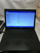 New listing Dell Inspiron 5748 Laptop Boots to Bios No Hdd/Ram/Charger Jr