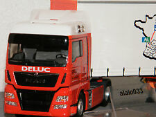 Man TGX Euro 6 XLX Tautliner Transports Deluc ELIGOR 1/43 ref 116010