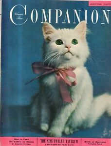 1949 Womans Home Companion August - Croton-on-Hudson; Mental Illness surgery??