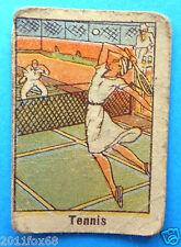figurines cromos card figurine sportive sport anni 30 40 v.a.v. vav tennis tenis
