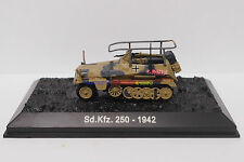 New 1/72 Diecast Tank German SD.KFZ.250 1942 WWII Military Model Toy Soldiers