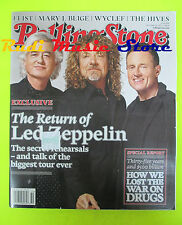 ROLLING STONE USA MAGAZINE 1041/2007 Led Zeppelin Ornette Coleman Wyclef J No cd