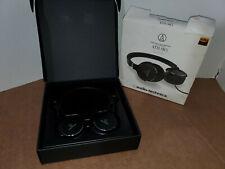 Audio-Technica ATH-SR5BK Wireless On-Ear High-Resolution Headphones (BLACK)