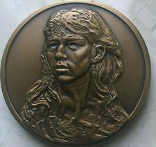 "Franklin Mint Rodin ""Gates of Hell"" Lage Bronze Medal"
