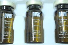 OVIS Placenta Serum with Vitamin C & Aloe Vera juice 10ml * 3 bottle