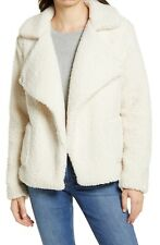 BB DAKOTA Faux Fur Teddy Jacket Size XS