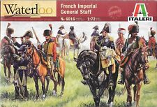 Italeri French Imperial General Staff Napoleonic Wars 1815 Waterloo 1/72 Scale