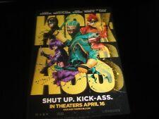 "KICK-ASS 3D Lenticular Pre-Release Mini Poster 5""x7"" HIT GIRL RED MIST RARE"