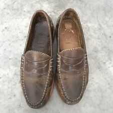 Allen Edmonds Sedona Brown Leather Mens Penny Loafers Pennyloafers Shoes 7D 7 D