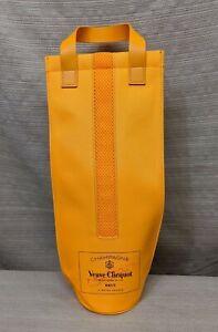 Veuve Clicquot Champagne Brut France Insulated Bottle Cooler Ice Jacket Gift Bag